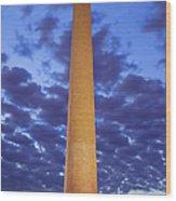 Sunrise Over Washington Monument Wood Print