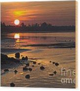 Sunrise Photograph Wood Print