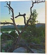 Sunrise Prescott Arizona Wood Print