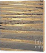Sunrise Ripple Wood Print