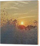 Sunrise Splash 1 9/05 Wood Print