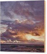 Sunrise Splendor Wood Print