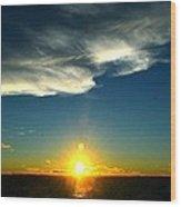 Sunset @ Chesapeake Bay-2 Wood Print