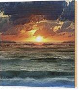 Sunset 12 Wood Print