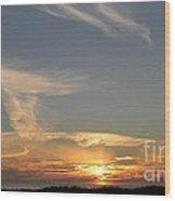 Sunset - #1 Wood Print