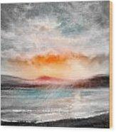 Sunset 111 Wood Print