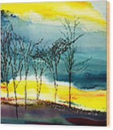 Sunset 3 Wood Print