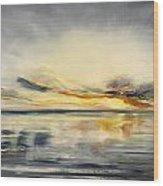 Sunset 384 Panoramic Wood Print