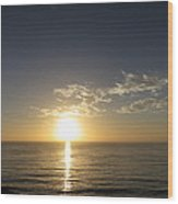 Sunset 489 Wood Print