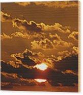 Sunset 5 Wood Print