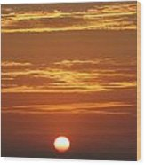 Sunset 501 Wood Print