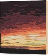 Sunset Alternative Wood Print