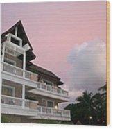 Sunset At Grand Laguna Wood Print