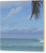 Sunset Beach Oahu Hawaii Wood Print
