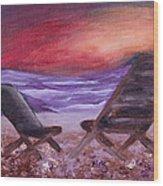 Sunset Bliss Wood Print