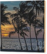 Sunset Breeze Wood Print