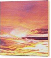 Sunset, Canyon De Chelly, Arizona, Usa Wood Print
