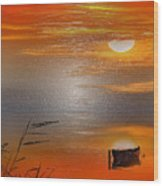 Sunset Charm, 30 Landscape Wall Art Painting Pack  Sunset-sunrise, Evening, Sea, Water, Ocean Etc  Wood Print