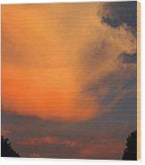 Sunset Cloud Series 19 Wood Print