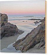 Sunset  Denhams Beach. Wood Print