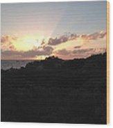 Sunset Dream Wood Print