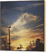 #sunset #gorg #nature Wood Print