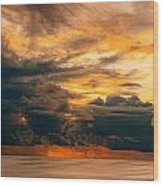 Sunset Grandeur Wood Print