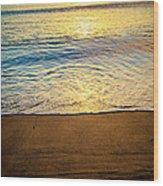 Sunset Hanalei Wood Print