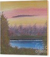 Sunset Haze Wood Print