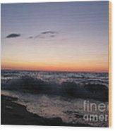 Sunset II Wood Print