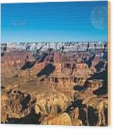 Sunset In The Grand Canyon Wood Print