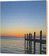 Sunset In The Keys Wood Print