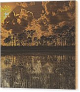 Sunset Jd II Wood Print