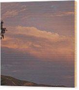 Sunset Landscape V Wood Print