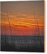 Sunset Number One Wood Print