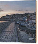 Sunset - Ohrid - Macedonia Wood Print