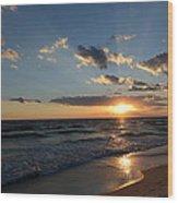 Sunset On Alys Beach Wood Print