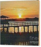 Sunset On The Palm Wood Print