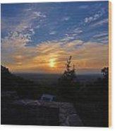 Sunset Over Boonsboro Md Wood Print