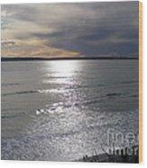 Sunset Over Calypso Beach Wood Print