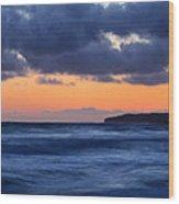 Sunset Over Dana Point Wood Print