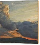 Sunset over Holy Cross Mountains Wood Print