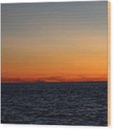 Sunset Over Point Lookout Wood Print