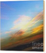 Sunset Reflections - Abstract Wood Print