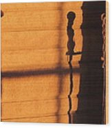 Sunset Shadow Indoor Wood Print