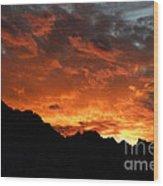 Sunset Splendor Wood Print