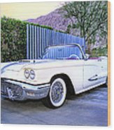 Sunset Thunderbird 2 Palm Springs Wood Print