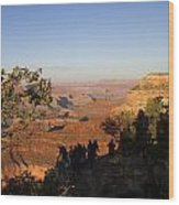 Sunset Vigil Grand Canyon Wood Print