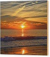 Sunset's Glow  Wood Print
