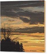 Sunsetsp Wood Print